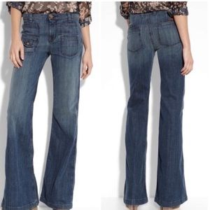 7 For All Mankind Georgia High Waisted Flare Jeans